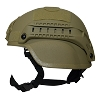 Valken Tactical Airsoft MICH 2000 Helmet w/mount&rails - Tan