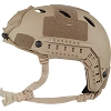 Valken Tactical Airsoft ATH Helmet, Enhanced P - Tan