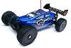 Backdraft 8E 1/8 Scale Brushless Electric Buggy - Blue
