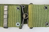 Olive Drab Campaign Belt -Metal Buckle style - size large