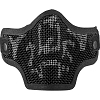 Valken Tactical 2G Wire Mesh Tactical Mask-BLK SKULL