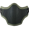 Valken Tactical 2G Wire Mesh Tactical Mask-OLIVE