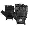 Valken Tactical Half Finger Plastic Back Gloves-BLK