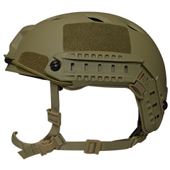 Valken Tactical Airsoft ATH Helmet, Enhanced B - Tan