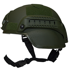 Valken Tactical Airsoft MICH 2000 Helmet w/mount&rails - Green
