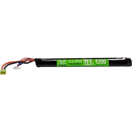 Valken Energy Lipo 11.1v 1200mAh Long Stick Battery