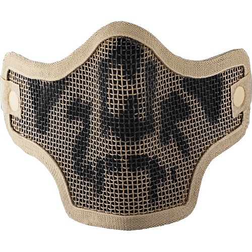 Valken Tactical 2G Wire Mesh Tactical Mask-TAN SKULL