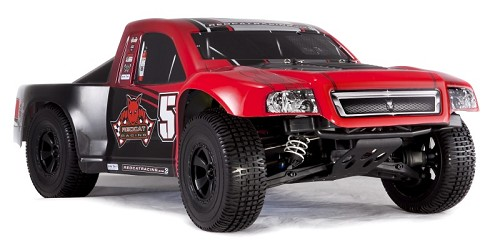 Aftershock 8E 1/8 Scale Brushless Electric Desert Truck - Red