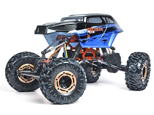 Rockslide RS10 XT 1/10 Scale Crawler 2.4GHz - Black/Blue