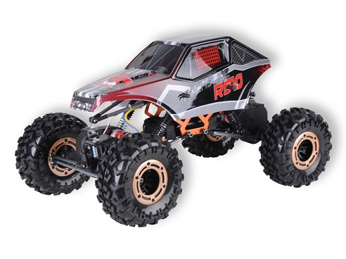 Rockslide RS10 XT 1/10 Scale Crawler 2.4GHz - Red